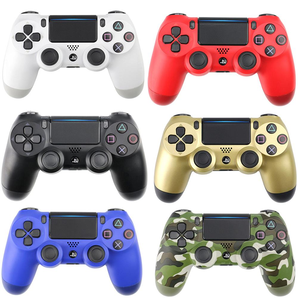 Newest For Sony PS4 Wireless Bluetooth Game Controller Bluetooth Wireless Joystick with Light For PlayStation 4 12 ColorsNewest For Sony PS4 Wireless Bluetooth Game Controller Bluetooth Wireless Joystick with Light For PlayStation 4 12 Colors