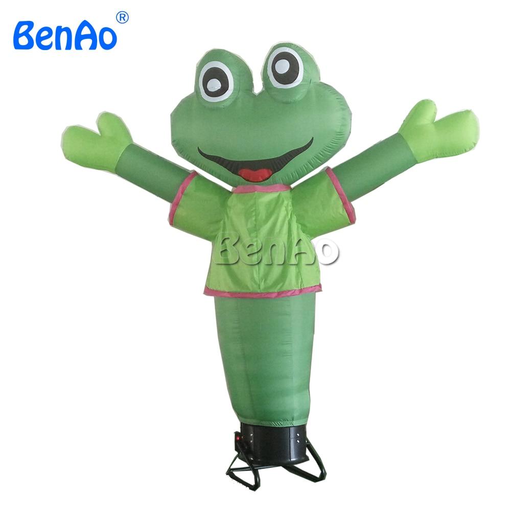 AD27BENAO DHL и танцор лягушка воздушный танцор 2,5 м высокая и свободная крепкая веревка/надувная лягушка небо танцор для продвижения воздуходувка не входит в комплект