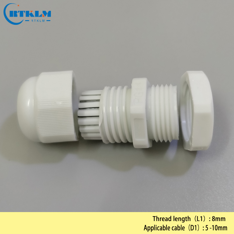 100PCS LOT Cable Gland Connector 5 10mm PG11 Waterproof Nylon Cable Gland 0 19 0 39inch Cable Gland Joints in Cable Glands from Home Improvement