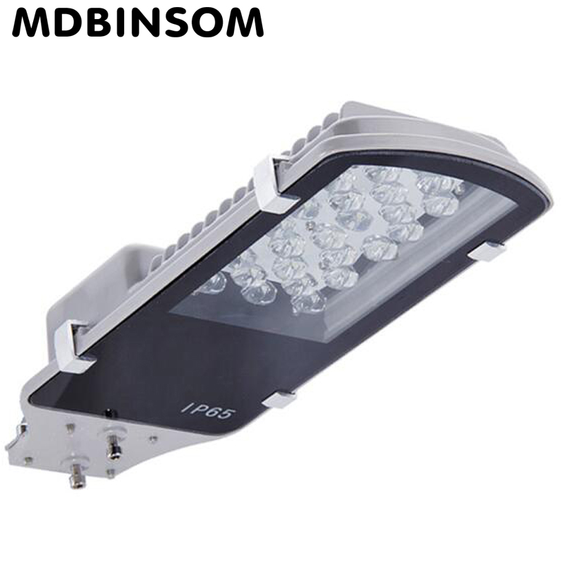 IP65 LED Street Light 12w 24w 30W 40W 60W Outdoor Road Highway Lamp 110-240V Waterproof Garden Partch Lamp luminance Light