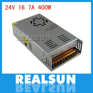 Image 1 - 10 adet/grup Evrensel 24 V 16.7A 400 W Anahtarı Güç Kaynağı Sürücü Anahtarlama LED Şerit Işık Ekran Için 110 V 220 V