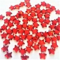 9800pcs/bag crystal strass big Sale star 6*6mm Flatback Crystal hotfix Rhinestones garment accessaries