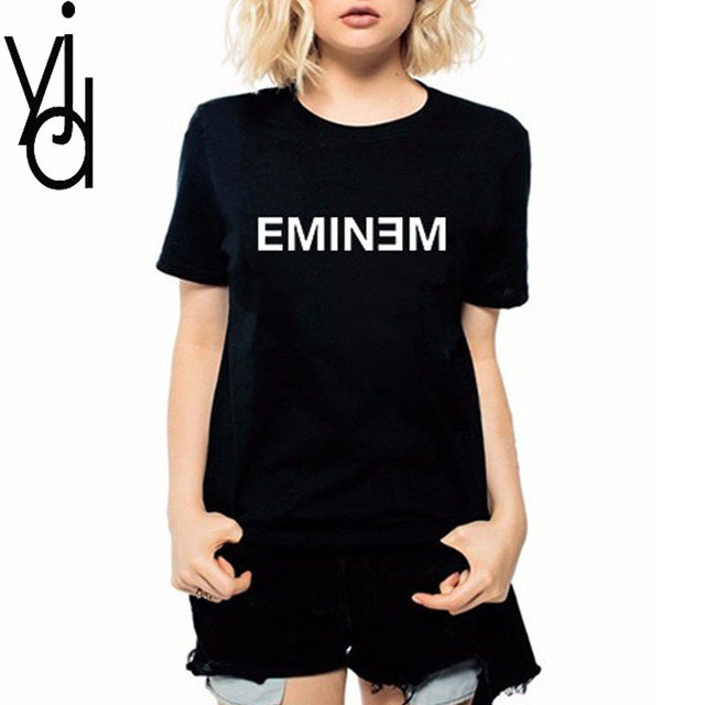 2eb74b12e Top Selling Product in 2018 Summer Casual Tommy T Shirt Women Plus Size  Short-sleeve Tee Sitcoms Eminem First Aid Plus Size