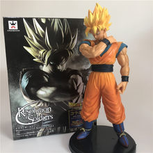 Dragon Ball Z Goku Super SaiYan Ultimative Soldaten Awakening Vegeta Gohan Trunks PVC Anime Abbildung DBZ Sammlung Modell 23cm(China)