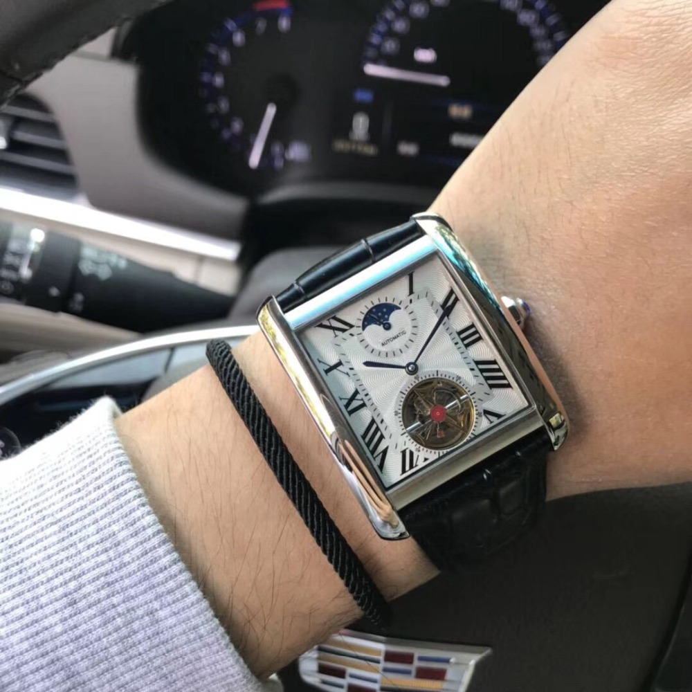 Mens Watches Top Brand Runway Luxury European Design Automatic Mechanical Watch S0723
