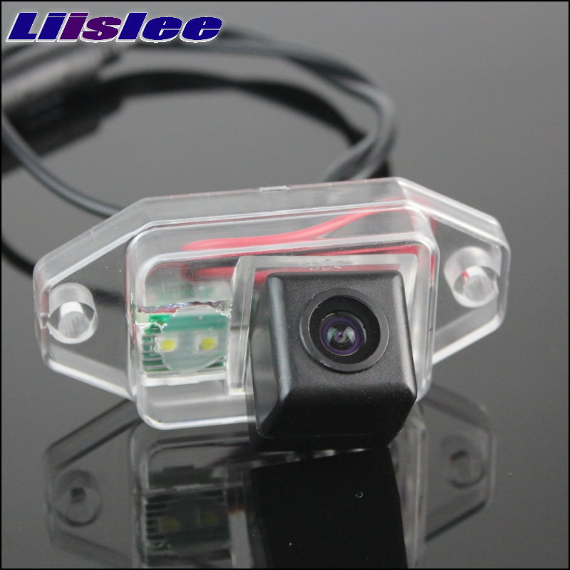 LiisLee Car CCD Night View Vsion Rear Camera For TOYOTA FJ Cruiser 2007~2011 back up Reverse CAM image