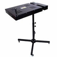 18X 18Spin Flash Dryer Silk Screen Printing Printer Steel Adjustable Stand for T Shirt Printing Curing