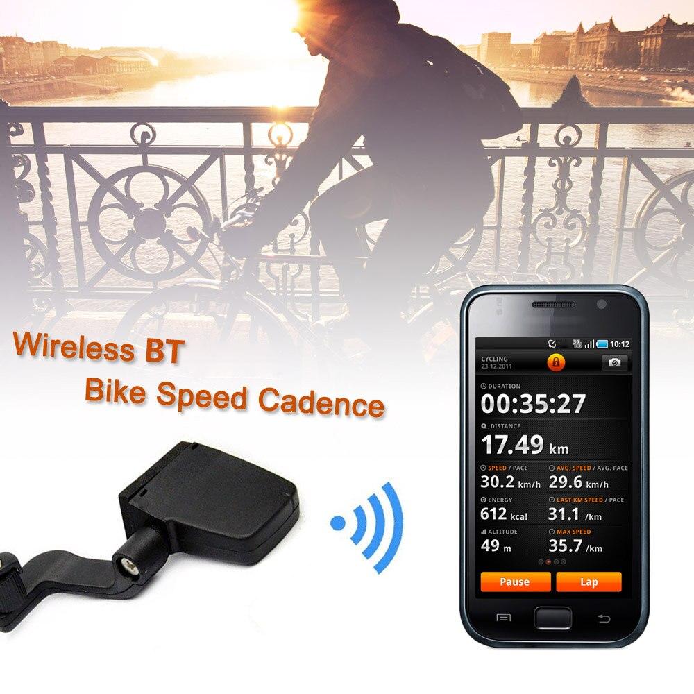 Wireless ANT Fitness Tracker Bike Speed Cadence Combo Sensor Speedometer sunding bluetooth 4 0 waterproof wireless combo cadence sensor