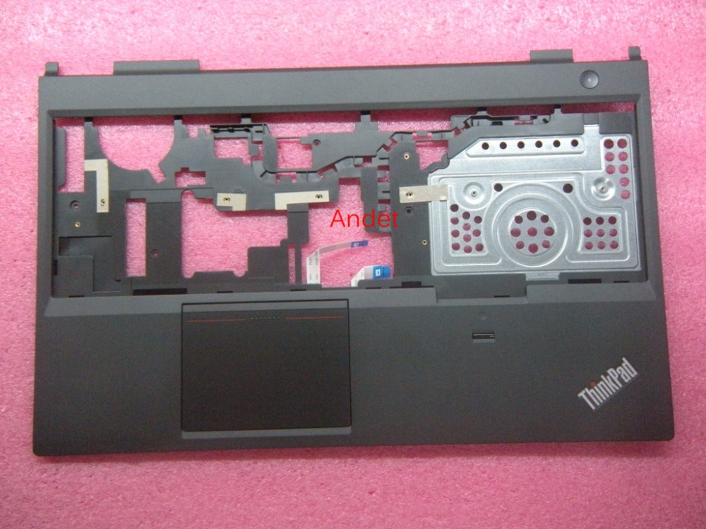 New Original for Lenovo ThinkPad L540 Palmrest Keyboard Bezel Cover Empty Upper Case with Fingerprint Touchpad 04X4860 04X4887