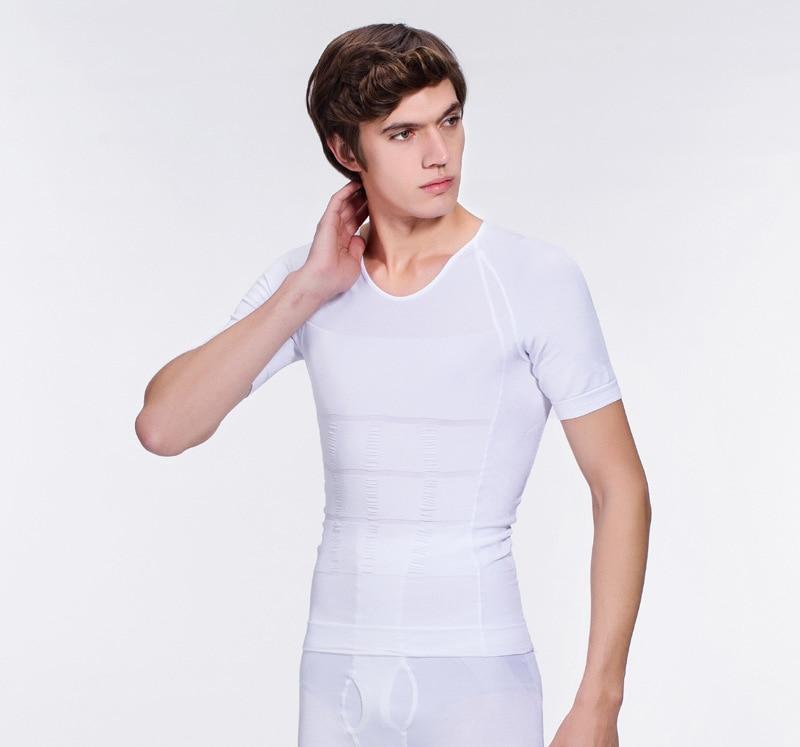 Ihrtrade,Travel & Outdoors,NCFS00192WT,Mens compression shirt slimming,Mens sleeveless compression shirt