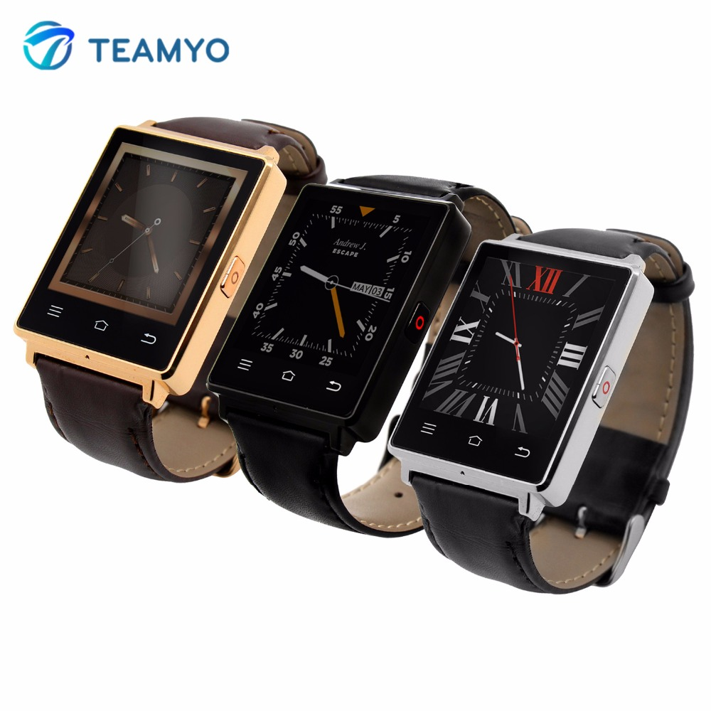 Teamyo D6 Smart Watch Bluetooth Health Monitor 3G GPS WIFI Smartwatch Android 5.1 Relogio Wearable Devices For Samsung Xiaomi LG potino d7 smart watch android 4 4 sim bluetooth 4 0 smartwatch 500mah gps wifi 3g heart rate monitor smart wearable devices