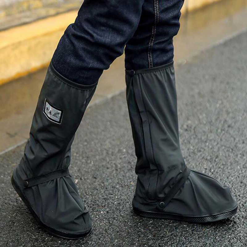 Reusable Bike Motorcycle Shoe Covers Cycling Bicycle Waterproof Overshoes Rainy