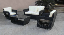 5-pcs PE wicker patio furntiure Pastoralism Home Indoor / Outdoor Rattan Sofa For Living Room