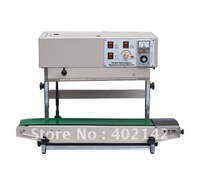 Vertical Plastic Bag Sealing machine with date printing+free  shipping+100% warranty sealing bags plastic machine bag seal machine sealed bags -
