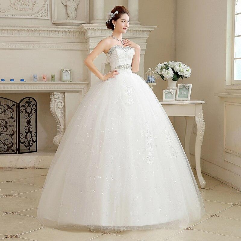 Strapless Bride Dress