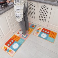 Popular Sale Door Mats Porch Kitchen Rugs Water and Oil Absorption Non Slip Bathroom Balcony Carpet Doormats 2Pcs/Set