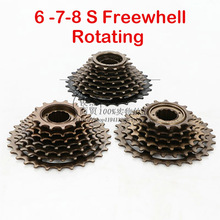 6 7 8 Speed MTB Mountain Bike Bicycle Index Flywheel Cassette Rotating Freewheel 13-28T for Cycling Parts