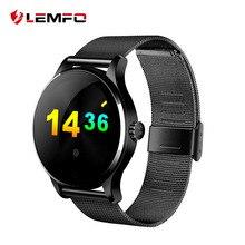 Купить онлайн K88H MTK2502 Bluetooth Smart часы с монитор сердечного ритма для Android IOS Телефон