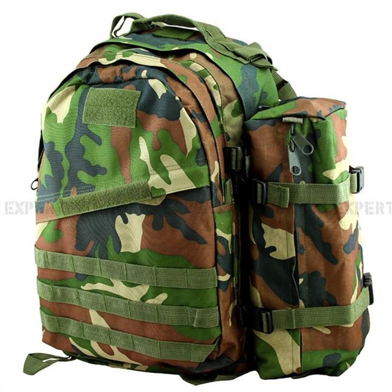 ФОТО USMC 3D+1 Assault Backpack Bag Woodland Camo SAND CP ACU CG-03-GC
