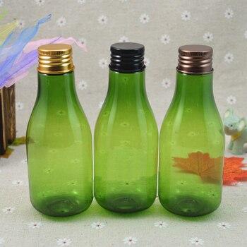 150 ml Perfume aluminio tapa botella para champú maquillaje crema vacía portátil reutilizable botella de plástico para maquillaje piel cuidado botellas