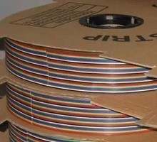 ribbon cable 20 WAY Flat Color Rainbow Ribbon Cable wire Rainbow Cable 20P ribbon cable 1.27MM pitch 10m/lot IN STOCK