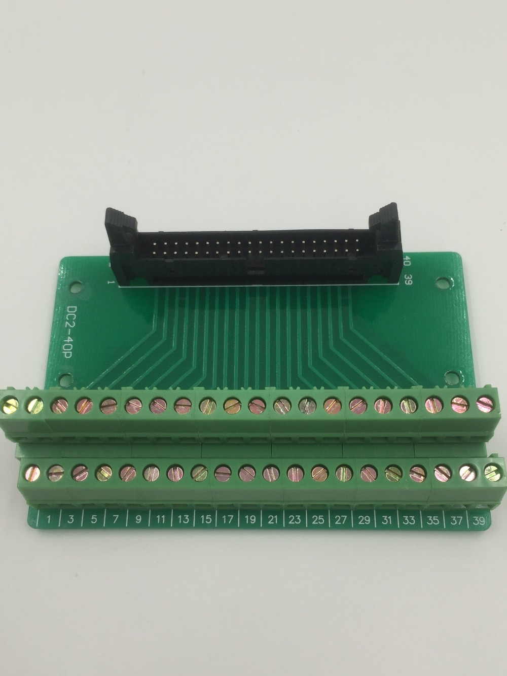 Hot Factory Direct Wholesale IDC40 male plug 40pin port header Terminal Breakout PCB Board block 2 row screw hot factory direct wholesale idc40 male plug 40pin port header terminal breakout pcb board block 2 row screw