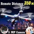 H16 2.4G 4CH 6-Axis Drone JJRC Tarântula X6 2.0MP/Câmera de 5MP HD Quactopter RC Brinquedos Helicóptero com 3 em 1 Carregador de Linha como presente