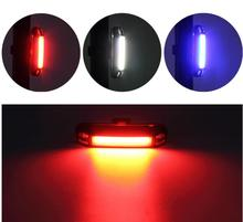 GUB M-38 COB Rear Bike light Taillight MTB Road Bike Safety Warning USB Rechargeable LED Cycling Bicycle Light Tail Lamp