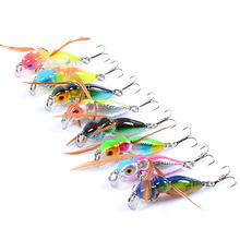 Minnow Fishing The bionic lure 4.5cm/3.4g Floating water type plastic Hard Lure 3D bionic eye treble hooks Fishing Tackle lures outdoor sports minnow 8cm 6 3g 3d bionic eye soft plastic lures artificial bait fishing lure fishing tackle swimbait grub