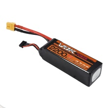 Mini Portable VOK 2S Lipo Battery 14.8V 35C 2200mAh T-Plug/XT60 plug Discharge Plug for RC Racing Quadcopter Drone NEW
