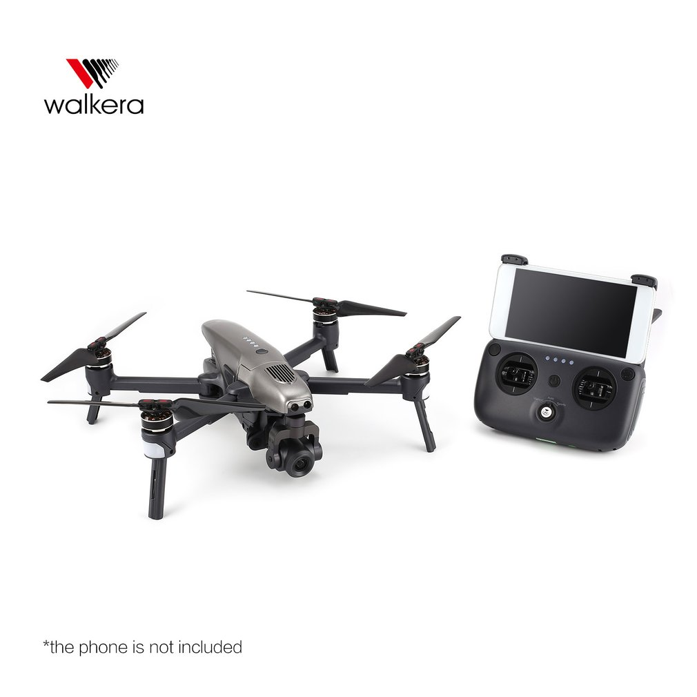 Walkera VITUS 320 Folding 4K HD Camera 5.8G FPV RC Drone Quadcopter Aircraft with 3-Axis Gimbal GPS Obstacle Avoidance AR Games extra gps module for walkera furious 320 320g