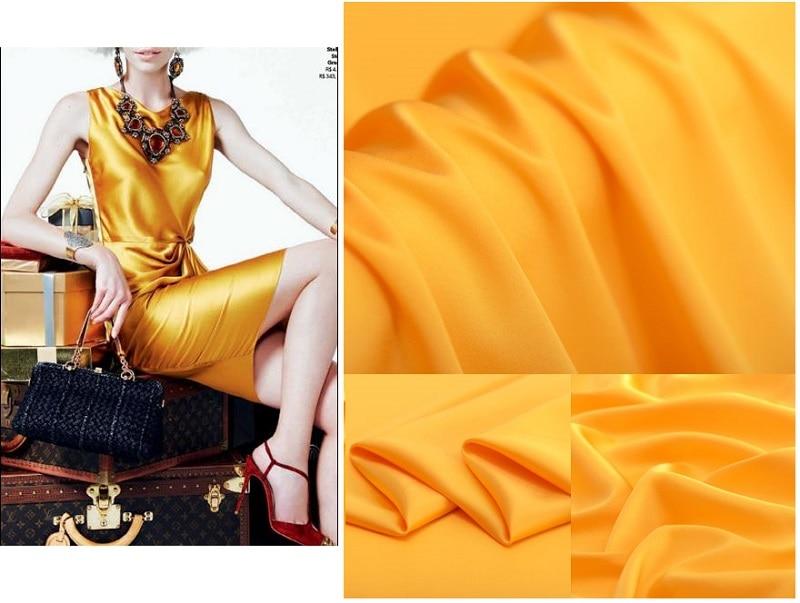 Imitatsioon siidist kangast formaalseks kleitiks 100 * 150cm - Kunst, käsitöö ja õmblemine - Foto 1