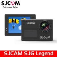 Оригинальный SJCAM SJ6 Легенда 4 К 24fps Ultra HD notavek 96660 водонепроницаемый экшн камеры 2.0 сенсорный экран удаленного спортивные DV