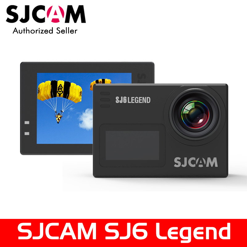Original SJCAM SJ6 LEGEND 4K 24fps Ultra HD Notavek 96660 Waterproof Action Camera 2.0 Touch Screen Remote Sports DV бинокль bushnell 8x42 legend ultra hd