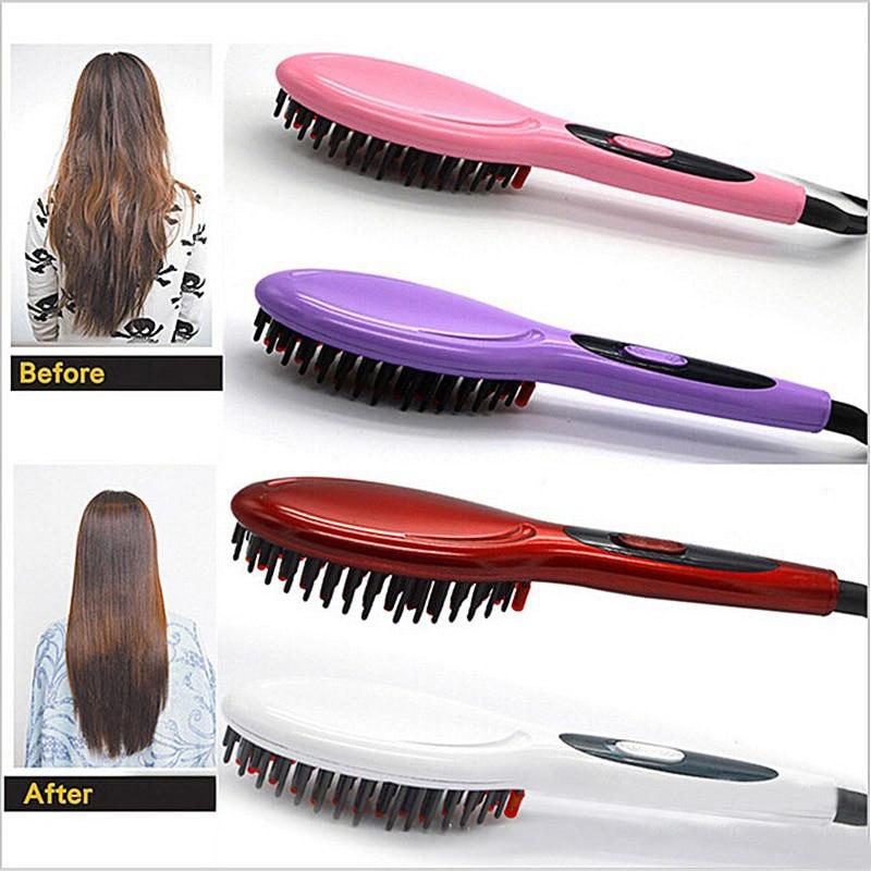 hot electric hair straightener