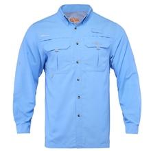 Мужская быстросохнущая рубашка, рубашка для рыбалки, походная рубашка UPF4+ UV
