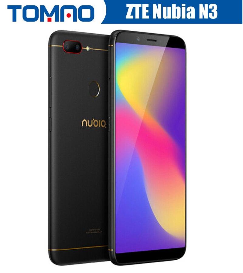 Global ROM ZTE Nubia N3 Mobile Phone 4GB RAM 64G ROM 6 01 Snapdragon CPU Dual