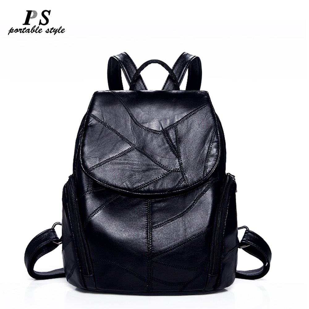 Women Backpack Geniune Leather Backpack Women 2019 Fashion Hotsale School Bags For Teenagers Fashion Backpacks For Teenage Girl