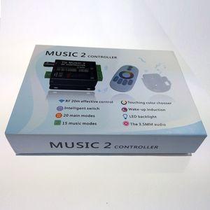 Image 5 - Commande Audio avec télécommande sans fil RF, musique pour bande LED LED de contrôle, 5050, 3528, 5630, 2 canaux RGB, DC 12 24V 18A