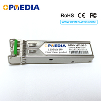1000BASE-ZX SFP transceiver 1.25G 1550nm 80km ZX SFP optical module with dual LC and DDM.cisco compatible