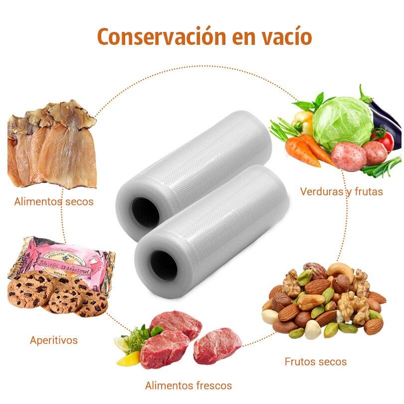 TINTON LIFE вакуумные пакеты для пищевых продуктов 25 см * 500 см/рулон вакуумный упаковщик упаковочная машина пакеты