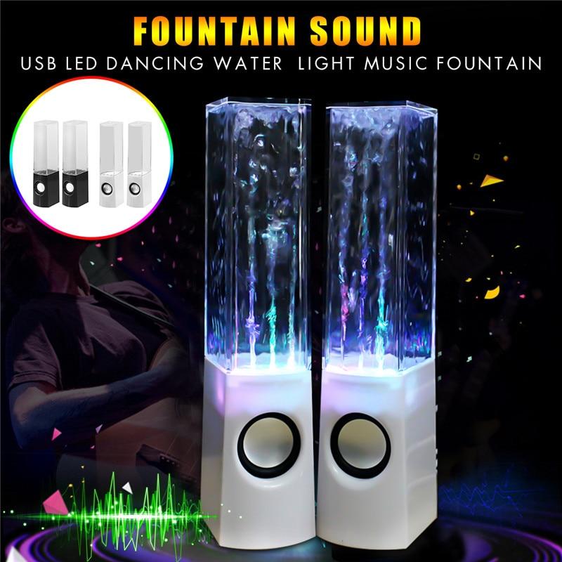 Led Dancing Water Speaker Light Music Usb Power Dc 5v Fountain For