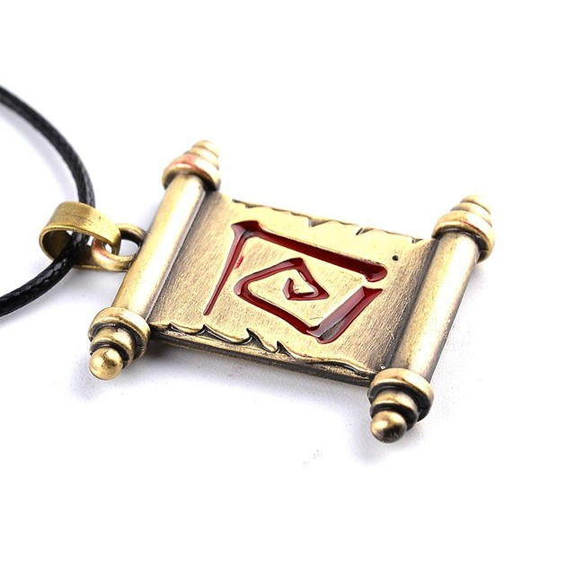 Town Portal Scroll Necklace