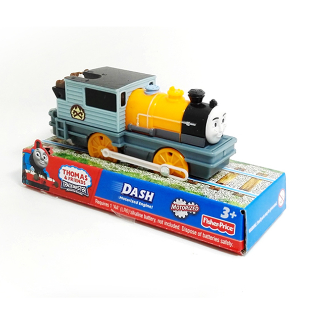 T0177 Electric Thomas and friend Dash Trackmaster engine Motorized train Chinldren child kids plastic toys gift  package