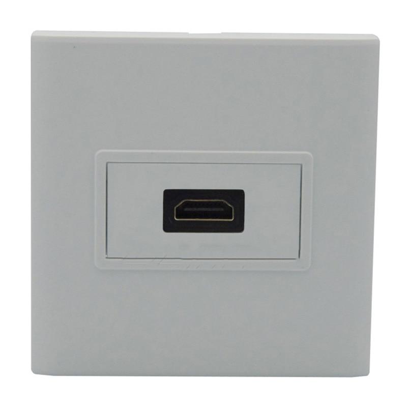 New HDMI V2.0 4K Panel Socket Type 86 x 86mm Wall Plug