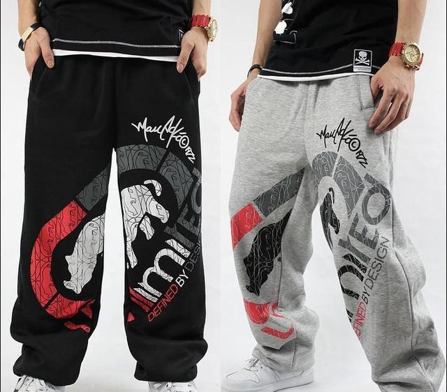 4FB Man HIP-HOP RAP Unltd  SweatPants Cotton Pants Trousers Graffiti Casual Hip-hop style Punk Men Pants Dance