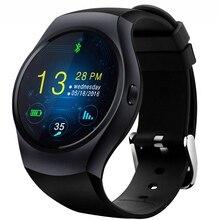 KS2 Smartwatch Telefon 1,3 zoll MTK2502 Runde smart uhr anti-verlorene Remote Camera Fitness Tracker für Android und IOS telefon PK GT08