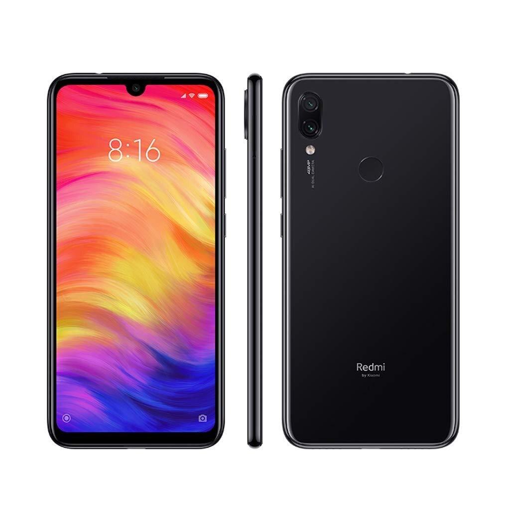 Xiaomi Note Redmi 7, Version globale, couleur noire (noir), double SIM, WiFi, 6 interne 4 go de Memoria, 4 go de Ram, Camer
