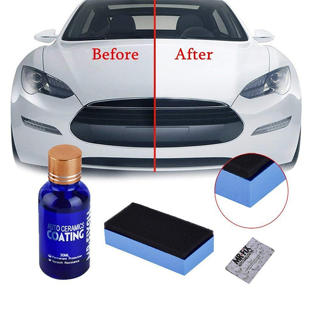 Car Polish Liquid 9H Mir Fix Ceramic Car Coating Kit Auto Polishing Glasscoat Paint Care Hydrophobic Coating Glass Polish Z2
