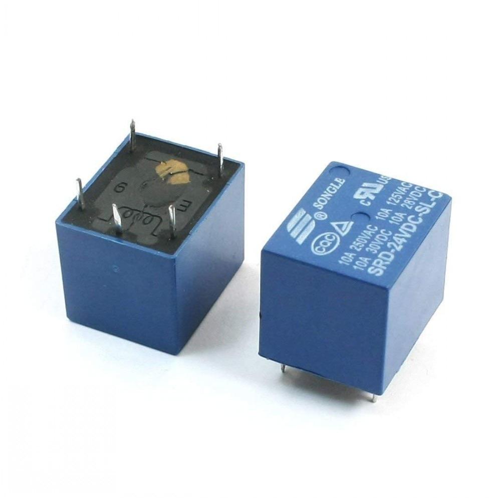 2PCS G5V-2-24VDC OMRON Relais de puissance 24 V 2 A 8 Pin NOUVEAU